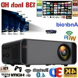 18000Lumen 1080P 3D LED 4K Android Wifi Video Home Theater P