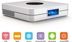 2020 New 7000 Lumens Wifi 3D HD 1080P Home Theater Projector