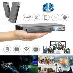 TOUMEI 4800 Lumens DLP Android Home Theater Projector 3D HD