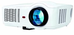 ONN 720p Portable Projector White Includes Roku Stick ONA19A