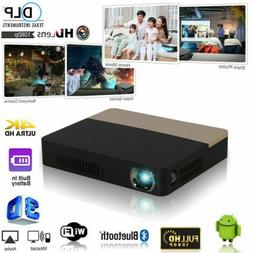 2020 New 8500 lumens DLP Android 4K 3D Wifi HD 1080P Home Th