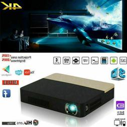 8500Lumens Full HD 1080P 4K DLP Projector Home Theater Wifi