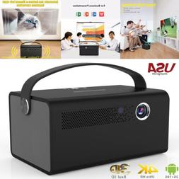 8600 Lumens Toumei V7 DLP 3D Home Theater Projector WIFI HD