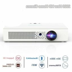 8700 Lumens 4K HD DLP Home Theater Projector 1080P Wifi 3D S