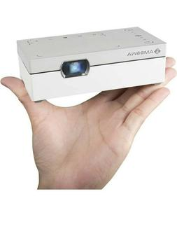 Amoowa Mini Projector - Portable WiFi Video Projector, 200 A