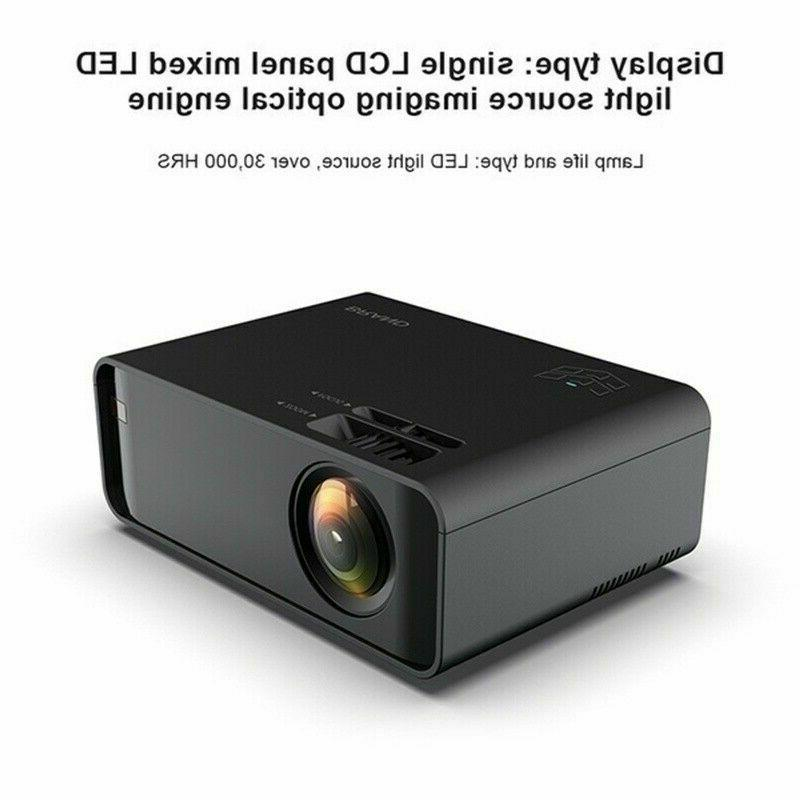 3500Lumen 1080P 3D 4K Home Theater Projector HDMI