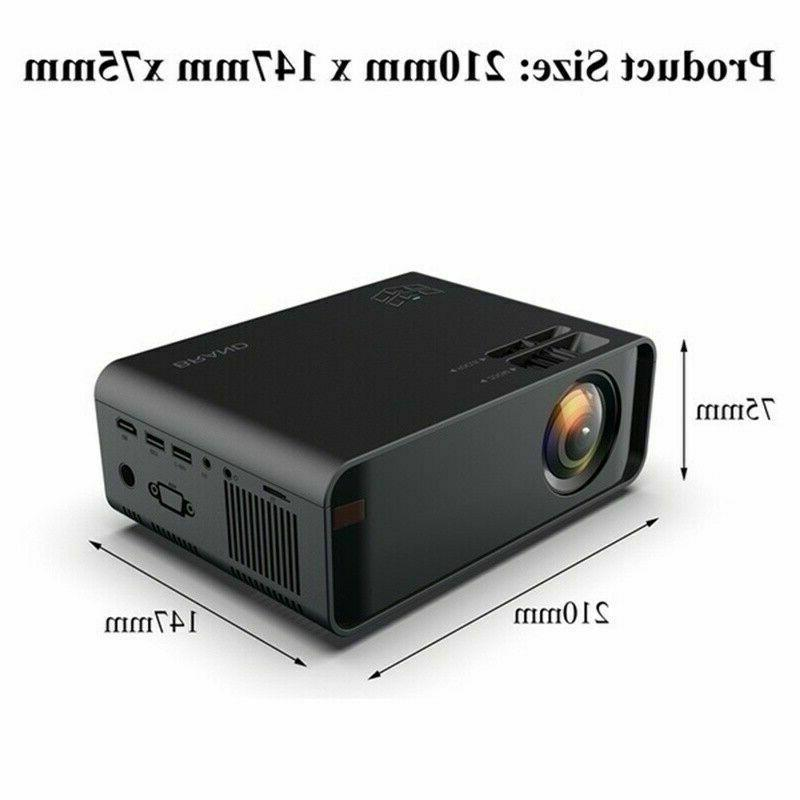 3500Lumen 1080P 3D LED 4K Android Wifi Video Home HDMI