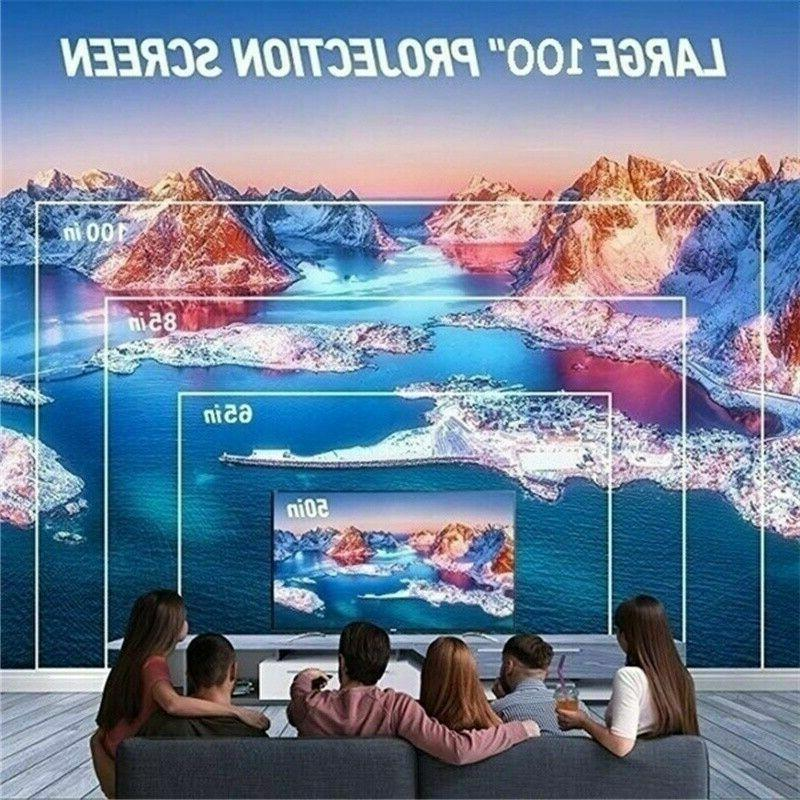 3500Lumen 3D 4K Home Theater Projector HDMI