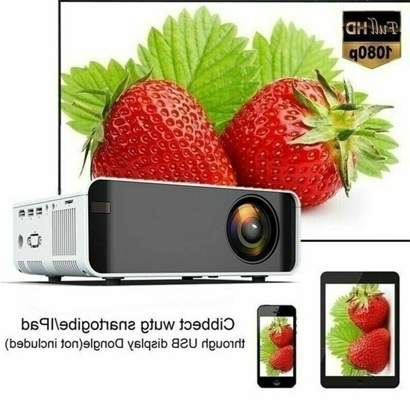 3500Lumen 1080P LED Home Projector
