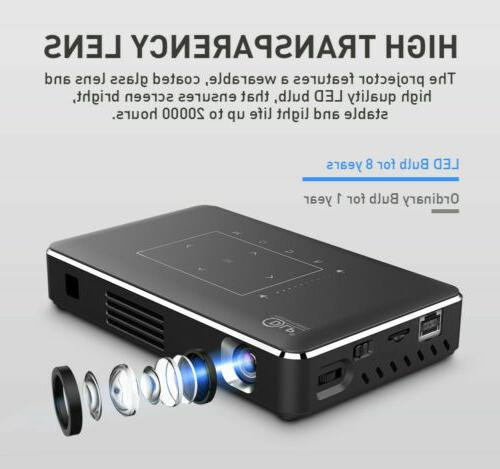 5000 Wifi TOUCH Projector HDMI