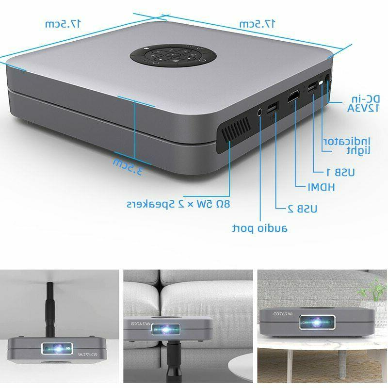 WZATCO D1 Projector Home support