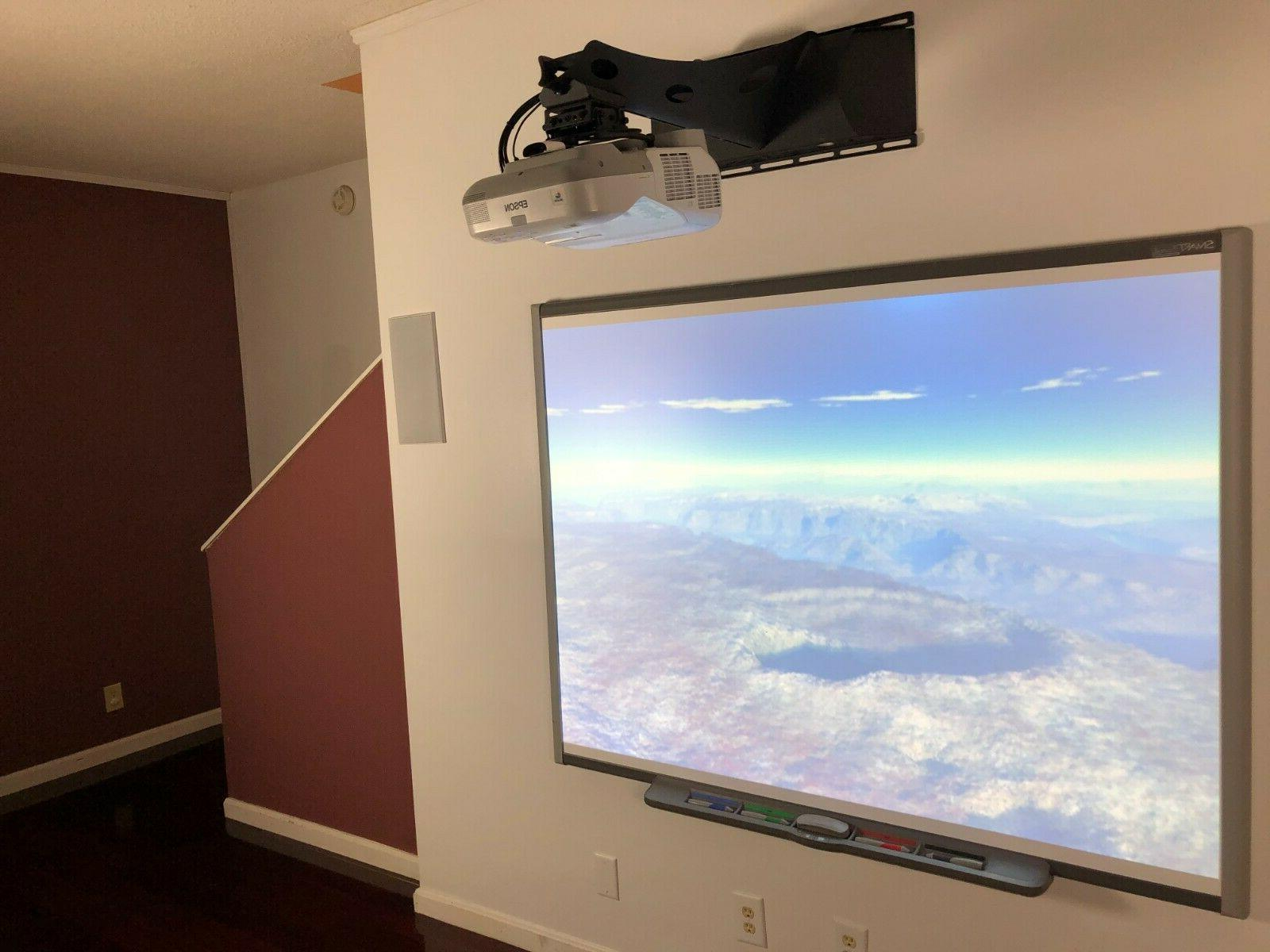 Interactive Smart Board SB660 and projector 470W*