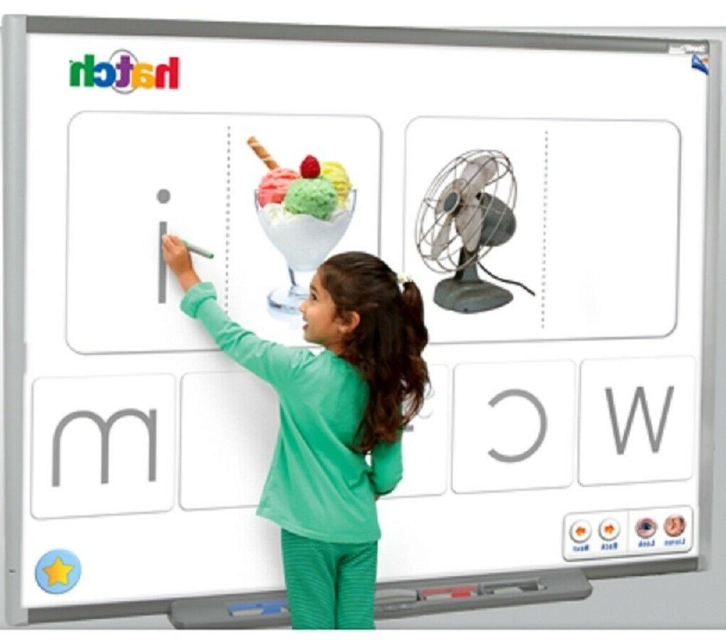 Interactive Smart Board and projector