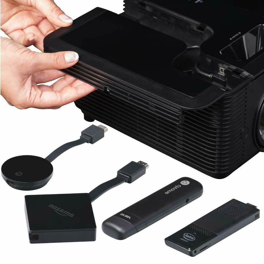 NW InFocus IN2136 WXGA 3X HDMI 3D WiFi Techstation Projector