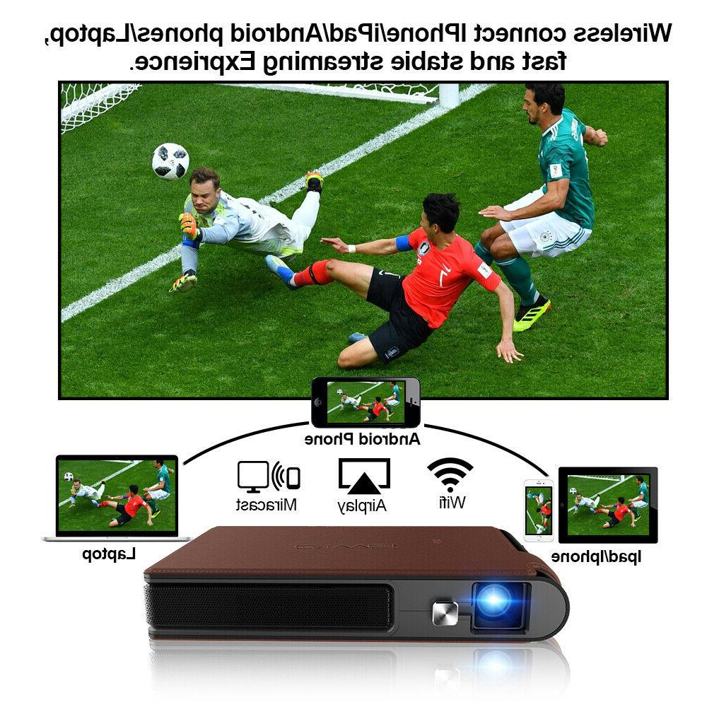 Caiwei Pocket Mini DLP Home Cinema 1080P