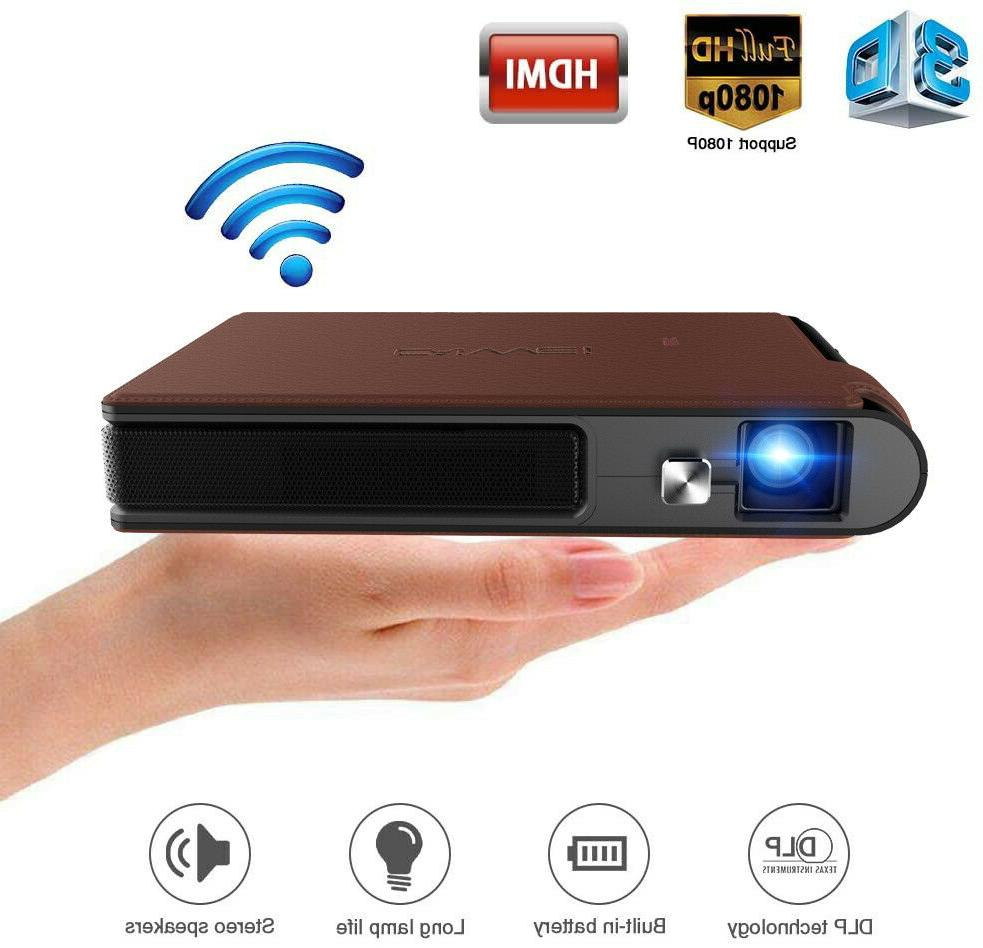 pocket mini 3d dlp projector led portable