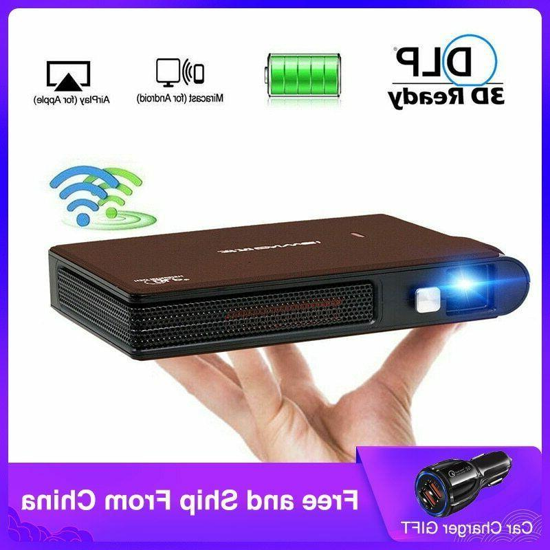 s6w portable pocket mini 3d dlp projector