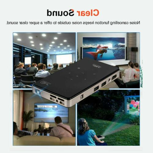 Smart Mini 7000 4K Android Home Theater Projector 1080P