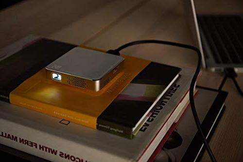 "Kodak Ultra Mini Projector LED DLP Projector 80"" Display, Built-in - USB Micro SD – iPhone iPad, Android & Devices"
