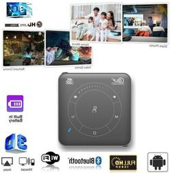 Mini 4000Lumen DLP Android 3D HD 1080P Home Cinema Projector