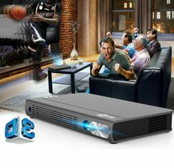 Mini Portable TOUMEI Android 4800 Lumens DLP Home Theater 3D