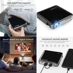 Apeman Nm4 Mini Portable Projector, Video Dlp Pocket Project