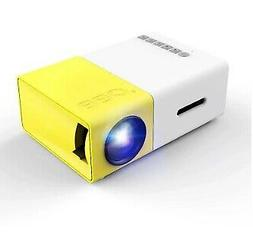 Portable 1080P HD Mini Projector Home Theater Movie Multimed