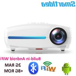 Smartldea Android Wifi BT 1080P Projector native 1920x1080 P