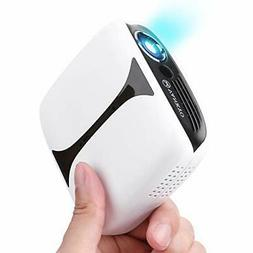 VANKYO Burger 101 Pico Projector, Rechargeable DLP Wireless
